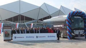 Trabzonspor yeni otobüsünü teslim aldı