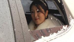 Güney Kore'den Hakkari'ye gelin geldi