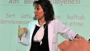 2017nin ilk kanser semineri Necip Fazıl Aile Merkezinde