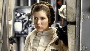 Carrie Fisher Star Wars 8'de yer alacak Carrie Fisher kimdir
