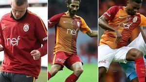 Galatasarayda operasyon 7 futbolcunun bileti kesildi