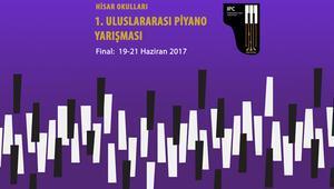 Uluslararası piyanistler okulda yarışacak