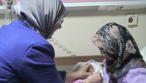 Denizlide 2017nin ilk bebeği Melike oldu