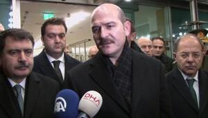 İçişleri Bakanı Süleymen Soyludan saldırı açıklaması