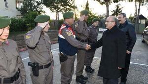 Vali Demirtaştan güvenlik güçlerine, yeni yıl ziyareti