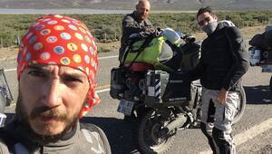 Hürriyet Seyahat gezginleri motosikletle dünya turunda