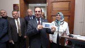 Amasya'da yeni kimlik kartları tanıtıldı