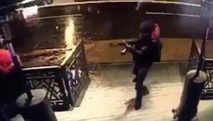 Reinaya saldıran terörist şok bombası kullanmış