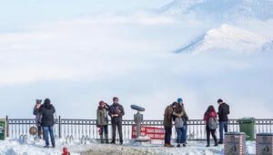 Bağbaşı Yaylası ve Teleferikte kar keyfi