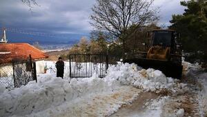 Nilüfer'de karla mücadele ekipleri teyakkuzda