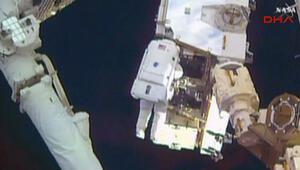 NASAdan canlı uzay yürüyüşü
