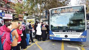 Ankarada toplu taşıma ücretlerine zam