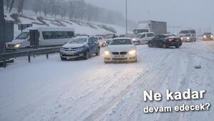 İstanbulda Ankaraya, Eskişehirden Çanakkaleye kar yağışı uyarısı... Ne kadar sürecek