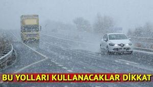İstanbul yol durumu nasıl, yollar açık mı İşte İstanbul yol durumu