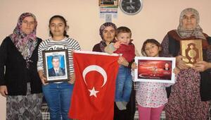 Şehit polis Ahmet Çamın ailesine ziyaret