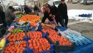 Soğuk hava sebze, meyve ve balık fiyatlarını yükseltti