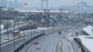 İstanbul yolları bomboş