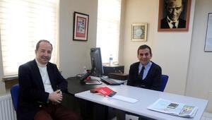 Başkan Gürkan, DHAyı ziyaret etti