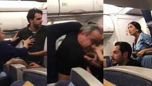 Beyrut-Londra uçağında çıkan kavga İstanbulda sonlandı
