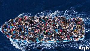 Akdenizde bir göçmen faciası daha: 100den fazla insan...