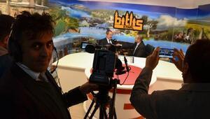 Bitlis'in ilk internet televizyon kanalı yayına başladı