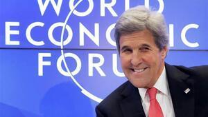 Kerry, Davostan Trumpa mesaj gönderdi