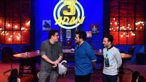 3 Adamın bu haftaki konukları kimler olacak 3 Adamdan büyük sürpriz