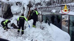 İtalyadaki çığ felaketinden mucize haber