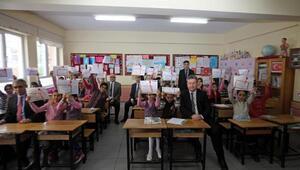 Başkan Palancıoğlu, öğrencilerin karne sevincine ortak oldu