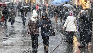 Son dakika: AKOMdan İstanbula kar uyarısı