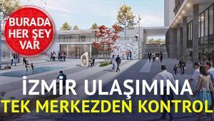 İzmir'in ulaşımı Halkapınardan yönetilecek