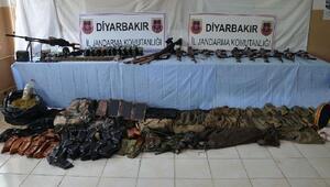 Diyarbakırda 2016 yılında ele geçirilen silah ve mühimmat bilançosu