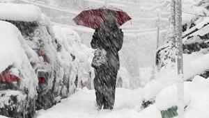 İstanbulda kar yağışı ne kadar devam edecek Kentte alarm verildi..