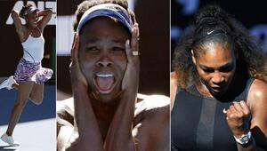 Serena Williams-Venus Williams 14 yıl sonra finalde karşılaşıyor