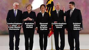 Almanyanın yeni Dışişleri Bakanı Gabriel oldu