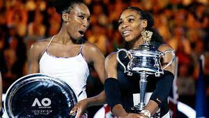 Avustralyada şampiyon Serena Williams