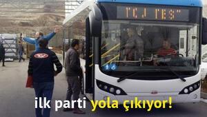 İzmirin elektrikli otobüs filosu yola çıkıyor