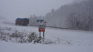 Sinop'ta 134 köy yolu ulaşıma kapandı