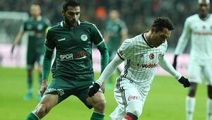 Beşiktaş - Atiker Konyaspor maçında kural hatası iddiası