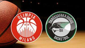 EA7 Olimpia Milano Darüşşafaka Doğuş maçı bu akşam saat kaçta hangi kanalda