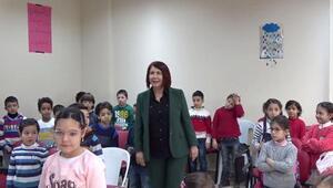 Suriyeli çocuklar eğitimlerini sömestrde kent enstitüsünde sürdürdü