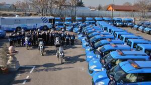 Zabıtanın hizmet filosuna 15 yeni araç takviyesi