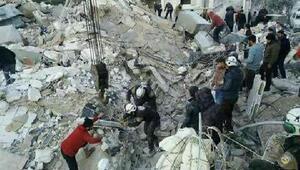 İdlipe hava saldırısı: 20 ölü, 30 yaralı