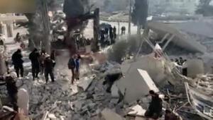 İdlipe hava saldırısı 20 ölü, 30 yaralı