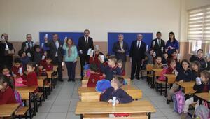 Trabzonda okul sütü dağıtımına başlandı
