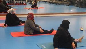 Suriyeli kadınlar sporla hayata tutunuyor