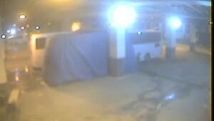 Otogardaki kundaklama güvenlik kamerasında (1)