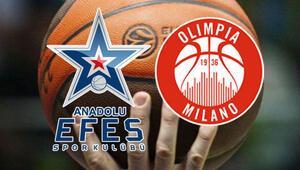 Anadolu Efes Olimpia Milano maçı ne zaman saat kaçta, hangi kanalda