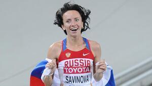 Rus atletin olimpiyat madalyası alındı