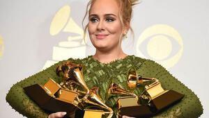 Grammy Ödülleri kazananları kimler oldu 2017 Grammye Adele damga vurdu
